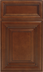 Traditional Framed: Custom Kitchen Cabinets | 1.2.3. Cabinets Direct - Elite-Cinnamon