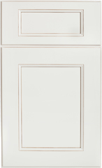 Traditional Framed: Custom Kitchen Cabinets | 1.2.3. Cabinets Direct - Fusion-Blanc