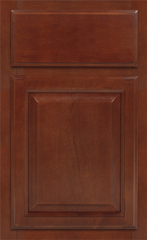 Traditional Framed: Custom Kitchen Cabinets | 1.2.3. Cabinets Direct - Landmark-Brandy