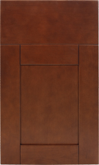 Traditional Framed: Custom Kitchen Cabinets | 1.2.3. Cabinets Direct - Shaker-Brandy