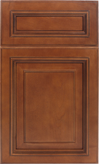 Traditional Framed: Custom Kitchen Cabinets | 1.2.3. Cabinets Direct - Wellington-Cinnamon