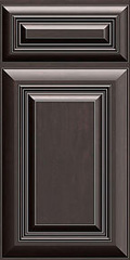 Traditional Framed: Custom Kitchen Cabinets | 1.2.3. Cabinets Direct - calumet-mocha