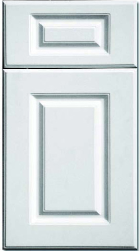 Kitchen Cabinets: Traditional Framed Novi MI | 1.2.3 Cabinets Direct - CNC-Classic-Collection-Cascade-C10-White