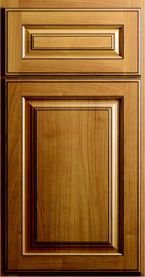 Kitchen Cabinets: Traditional Framed Novi MI | 1.2.3 Cabinets Direct - CNC-Concord-Collection-Bristol-Series-Toffee-Glaze-C8B