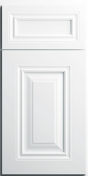 Kitchen Cabinets: Traditional Framed Novi MI | 1.2.3 Cabinets Direct - CNC-Concord-Collection-Park-Ave-Series-White-PB10