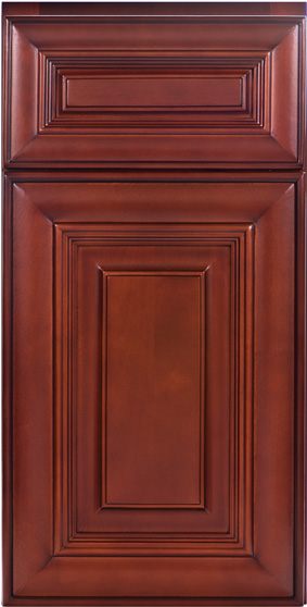 Kitchen Cabinets: Traditional Framed Novi MI | 1.2.3 Cabinets Direct - CNC-Concord-Harmony-Bordeaux-HB7