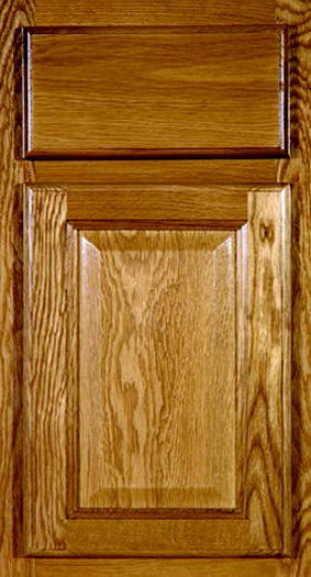 Kitchen Cabinets: Traditional Framed Novi MI | 1.2.3 Cabinets Direct - CNC-Country-Collection-Country-Oak-Color-C4-Oak