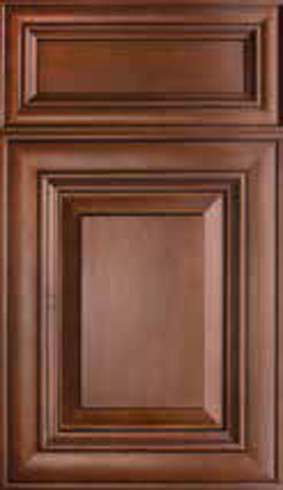 Kitchen Cabinets: Traditional Framed Novi MI | 1.2.3 Cabinets Direct - Elite-Cinnamon(1)