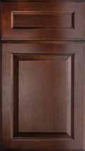 Kitchen Cabinets: Traditional Framed Novi MI | 1.2.3 Cabinets Direct - Hallmark-Chestnut(1)