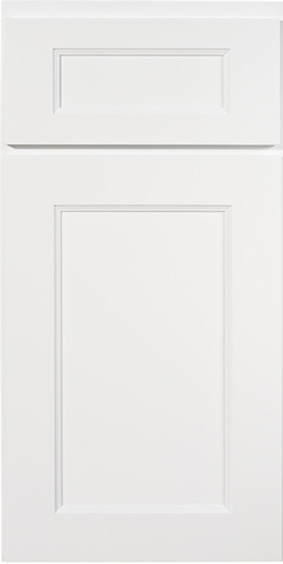 Kitchen Cabinets: Transitional Novi MI | 1.2.3 Cabinets Direct - KCD-Premier-Collection-Color-Brooklyn-Bright-White