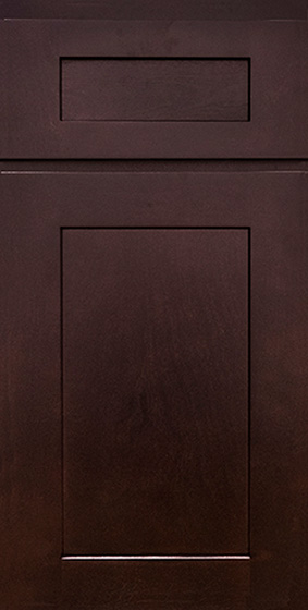 Kitchen Cabinets: Transitional Novi MI | 1.2.3 Cabinets Direct - KCD-Premier-Collection-Shaker-Espresso