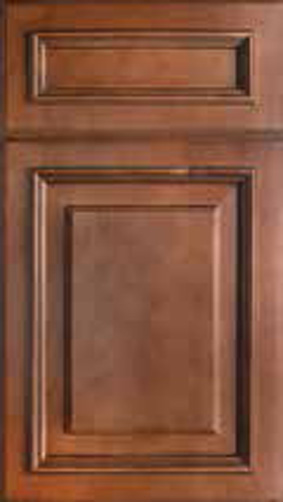 Kitchen Cabinets: Traditional Framed Novi MI | 1.2.3 Cabinets Direct - Wellington-Cinnamon(1)