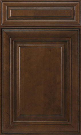 Kitchen Cabinets: Traditional Framed Novi MI | 1.2.3 Cabinets Direct - jk-chocolate-maple-glazed