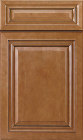 Kitchen Cabinets: Traditional Framed Novi MI | 1.2.3 Cabinets Direct - jk-cinnamon-maple-glazed