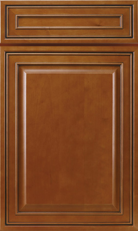 Kitchen Cabinets: Traditional Framed Novi MI | 1.2.3 Cabinets Direct - jk-mocha-maple-glazed